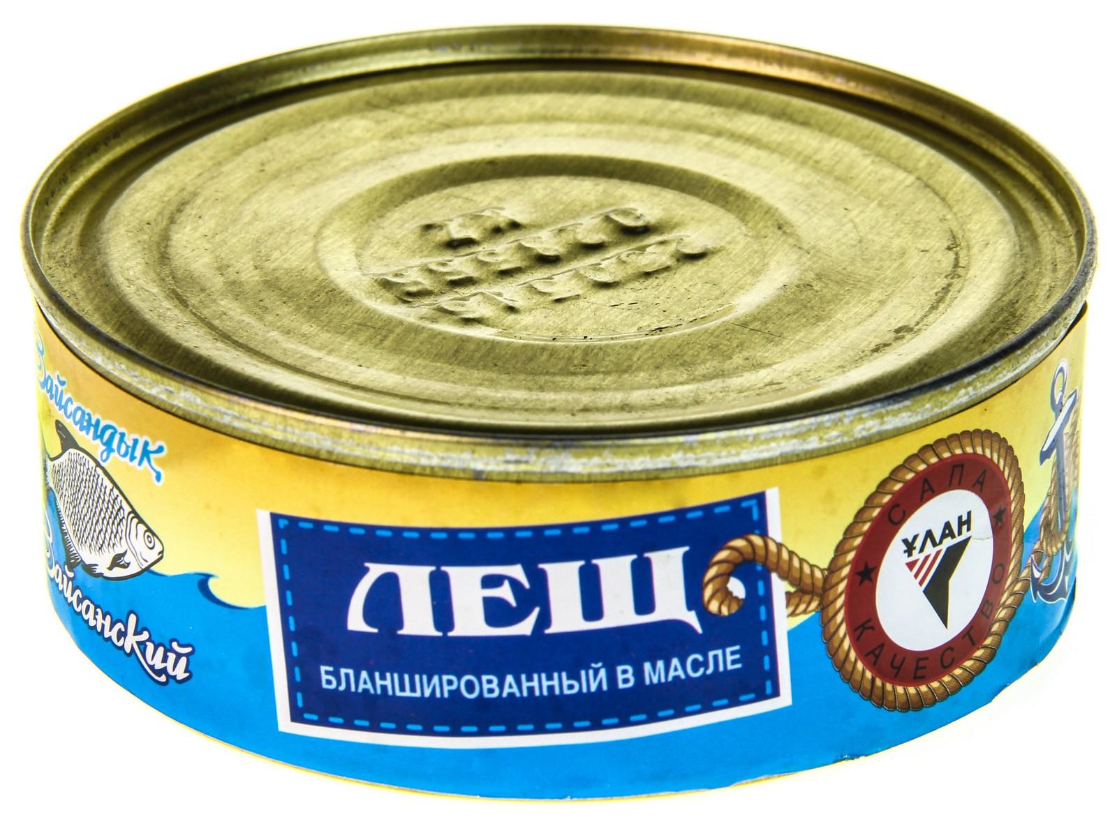 Рецепт консервов из леща в домашних условиях 711